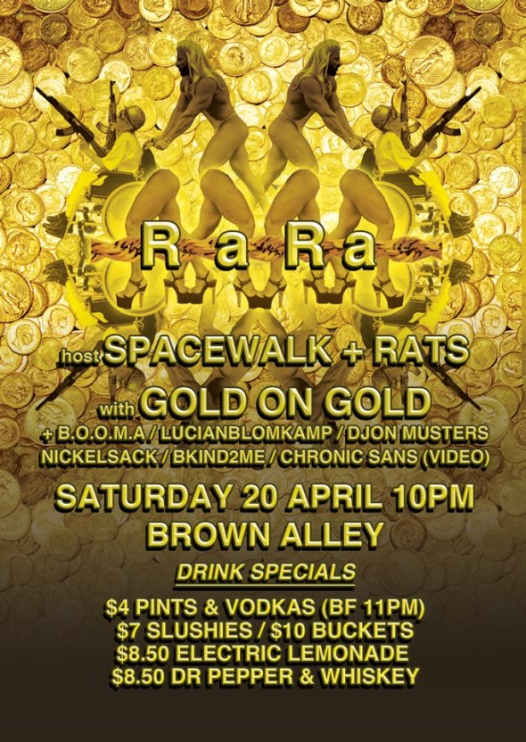 SPACEWALK x RATS